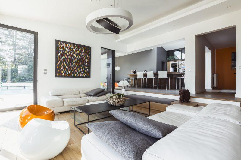 Ronan Siri photographe d'architecture et en immobilier à Lyon, Projet de l'architecte Arthur Gential, maison moderne, design et contemporaine en région Rhone-Alpes