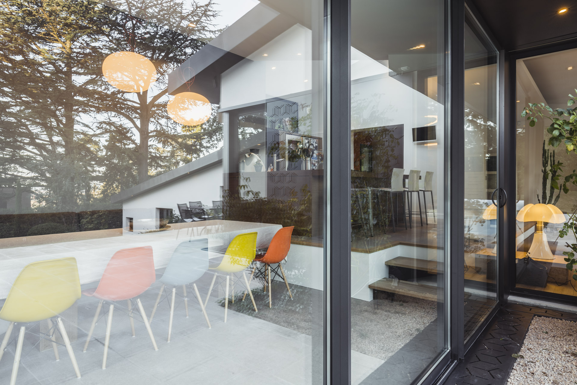 baie vitrée moderne et design