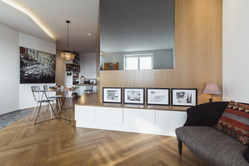 immobilier d'appartement à Lyon, rénovation par Arthur Gential, et photographié par Ronan Siri, photographe lyonnais à Lyon