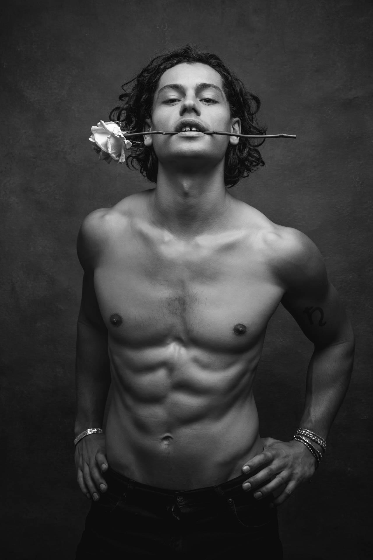 portrait ronan siri lyon Mathis Gardel model